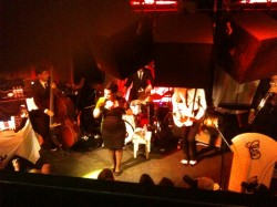 Caro Emerald debuting at the Jazz Club
