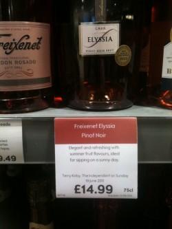 Freixenet Elyssia Pinot Noir