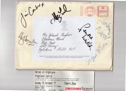 Downton Abbey Autographs