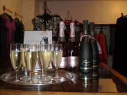 Shoes, shopping and fizz!