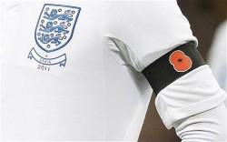 England Football Squad Poppy Armband