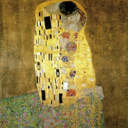 Klimt The Kiss (1908)