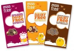 Moo Free's Yummy New Dairy Free  Choccie